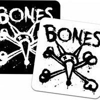 "BONES WHEELS - Vato Op Square 2"" Single Sticker"