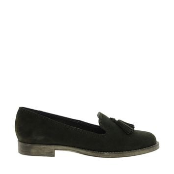 ASOS MISTER Leather Slippers