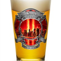 We Will Never Forget Red Sky Pint Glass