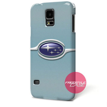 Subaru Turqoise Impreza Sports Car Samsung Galaxy Case Cover Series
