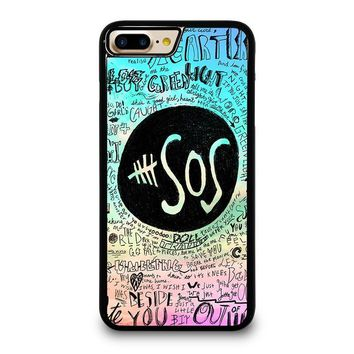 5 SECONDS OF SUMMER 3 5SOS iPhone 4/4S 5/5S/SE 5C 6/6S 7 8 Plus X Case