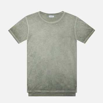 Sprayed Mercer Tee / Olive
