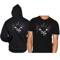 the shredder hoodie and shirt