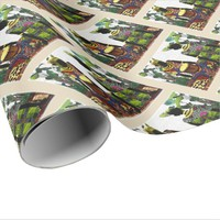 In the Garden of Rhythm Wrapping Paper