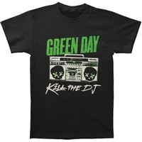 Green Day Men's  Kill The DJ T-shirt Black