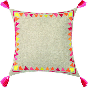 Solona Pillow Fuchsia 20X20""