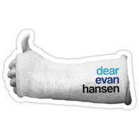 'dear evan hansen' Sticker by annaundso