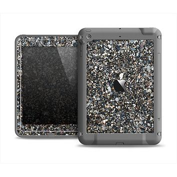 The Small Dark Pebbles Apple iPad Air LifeProof Fre Case Skin Set