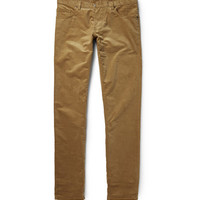Richard James - Slim-Fit Cotton Corduroy Trousers | MR PORTER