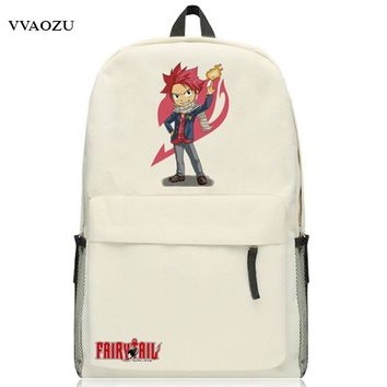 New Arrival Fairy Tail Backpack for Teenagers Oxford Japan Anime School Backpacks Schoolbag Shoulders Bag Free Shipping