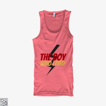 The Boy Who Lived, Harry Potter Tank Top