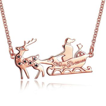 Sled Necklace