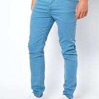 ASOS | ASOS Skinny Jeans In Light Blue at ASOS