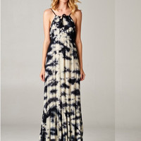 Love around the Campfire Tie-Dye Maxi Dress