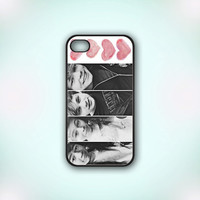 5 Seconds Of Summer - Design Print for iPhone 4/4s Case or iPhone 5 Case - Black or White