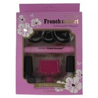 Konad French Manicure Stamping Nail Art Kit