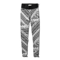 Pattern High Waist Leggings