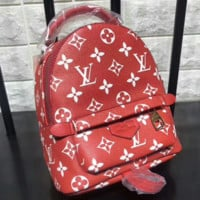 Supreme LV Fashion Sport Laptop Bag Shoulder School Bag Backpack B-A-GHSY-1