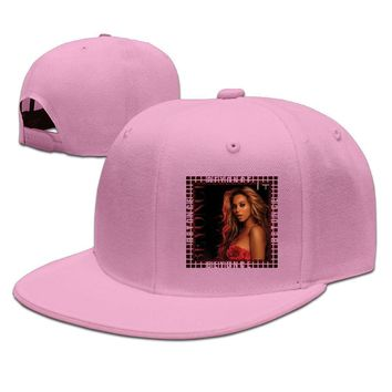 Beyonce 1+1 Breathable Unisex Adult Womens Fitted Hats Mens Snapback Caps