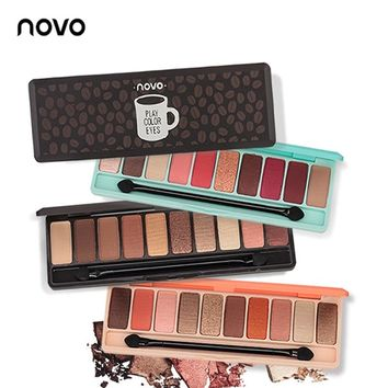 Fashion eyeshadow palette 10 Colors Matte EyeShadow naked palette Glitter eye shadow MakeUp Nude MakeUp set Gift