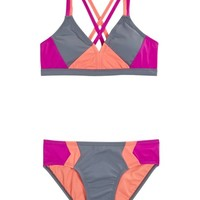 Colorblock Bikini Swimsuit