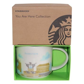 Starbucks You Are Here Collection Germany Ramstein Ceramic Coffee Mug New w Box