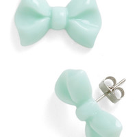 You Bow What I Mint Earrings