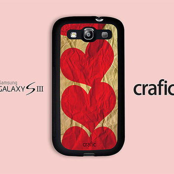 Vintage Heart Samsung Galaxy S3 Case