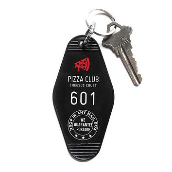 Pizza Club Keychain