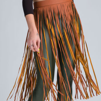 On The Fringe Hula Belt