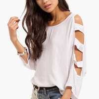 Up The Ladder Sleeve Top $44