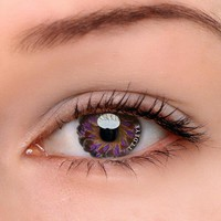 TTDeye Lolly Purple Colored Contact Lenses