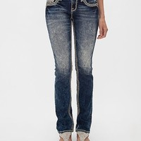 Rock Revival Marlyn Mid-Rise Straight Stretch Jean