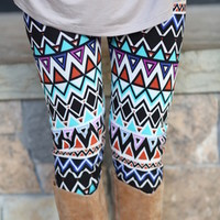 Geometric Trapper Leggings