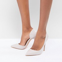 True Decadence Patent Cut Out Court Shoes at asos.com