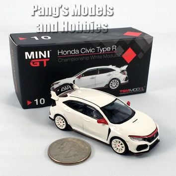 2.75 Inch 2017 Honda Civic Type R Modulo Edition (FK8) 1/64 Scale Diecast Model by TSM Model