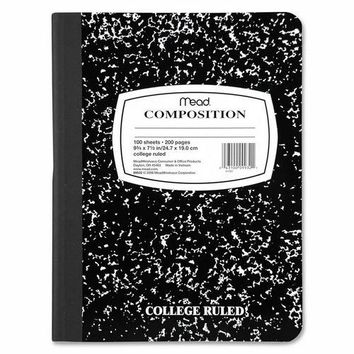 Composition Notebook College Ruled - CASE OF 14