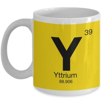 Elements of Yarn Mug ~ Geek Knitting Crochet Science Gift