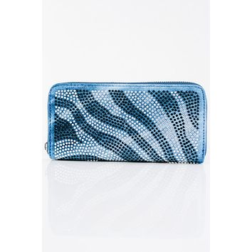 Two Tone Zebra Wallet