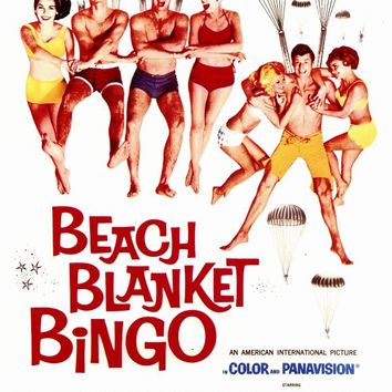 Beach Blanket Bingo 11x17 Movie Poster (1965)