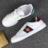 Gucci Trending Bee Embroidery Old Skool Sneakers Sport Shoes