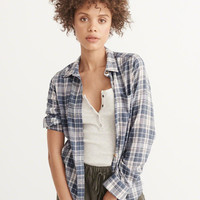 Womens Plaid Shirt | Womens New Arrivals | Abercrombie.com