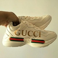 GUCCI Woman Men Trending Fashion Running Sports Sneakers Shoes