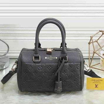 Louis Vuitton Fashion New Women Leather Satchel Shoulder Bag Handbag Crossbody