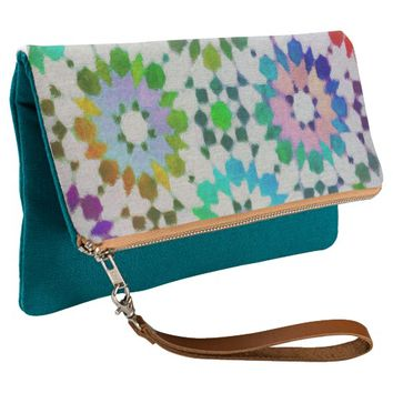 Casablanca Rainbow Clutch