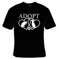 Adopt A Pet T-Shirt Men's