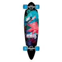 "Longboard Blunt Nose Outer Limits 38"" Stella Skateboard Complete"