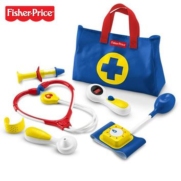 Vintage Fisher Price Pretend Doctor Medical Kit