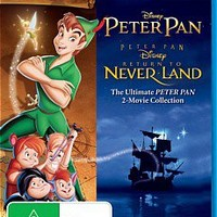 Peter Pan 1 & 2 (Blu-ray) | DVD Movies & TV Shows, Genres, Kids / Family : JB HI-FI