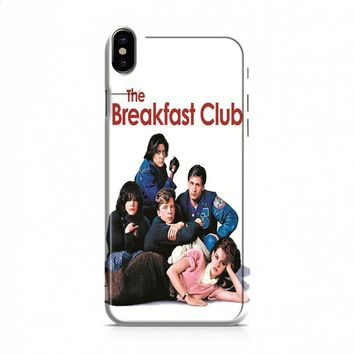 BREAKFAST CLUB VINTAGE POSTERS iPhone X case